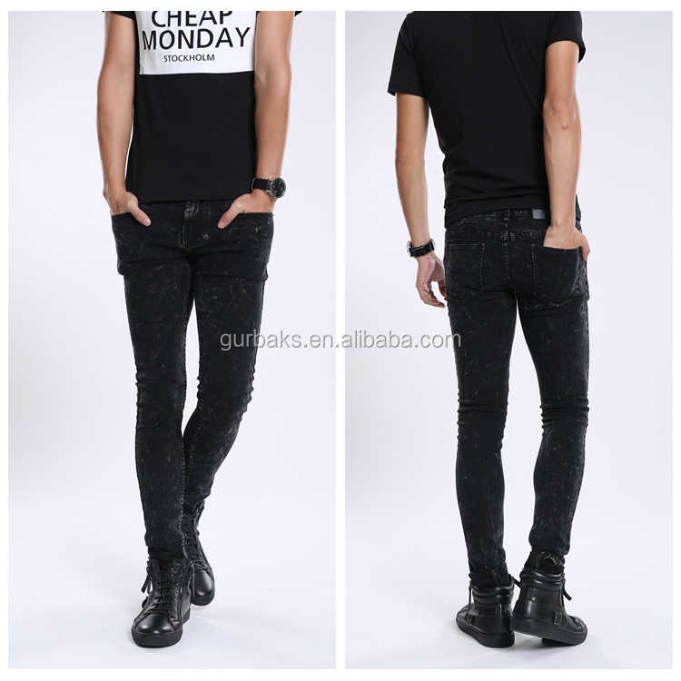 2016 Fashion Man Latest Low Price European Denim Jeans