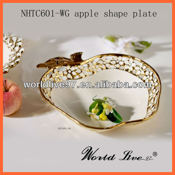 high quality new ceramic decorative fruit platter