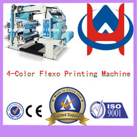 Automatic high speed 4 color flexo printing Flexo Ruian high speed 4 colour flexo printing machine