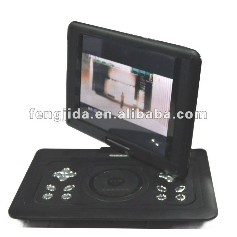 mini battery operated portable lecteur dvd avec cran tft dvd portatif joueurs de vcd id de. Black Bedroom Furniture Sets. Home Design Ideas