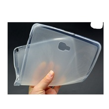 simple and transparent TPU silicon tablet case for Samsung galaxy tab a 10.1 inch P580 P585