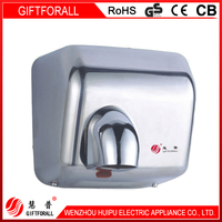 hot china products wholesale hotel supply automatic wall mounted type hand dryer