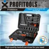 "120pcs 1/4""&3/8""&1/2"" high quality professional tool kit"