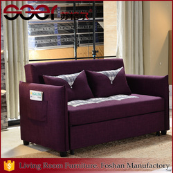 Hot sale cheap sofa cum bed sofa 2 in 1 for single apartment foshan wholesale furniture