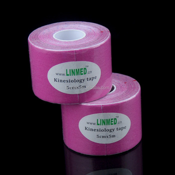 ISO CE and US-FDA kinesiology tape Your logo