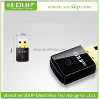 High Quality 802.11 n/g/b 300Mbps Mini driver-free wireless N wifi usb adapter EP-N1557
