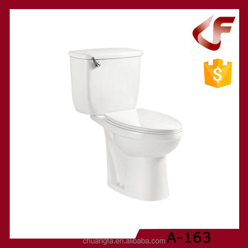Wash down american standard quality one level toilet
