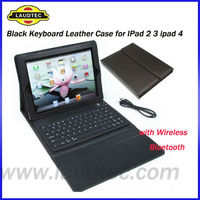 For IPad Leather Cover,Book Style Keyboard Leather Case for IPad Laudtec