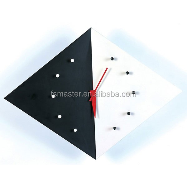 diamond metal wall art clock western style kite wall clock