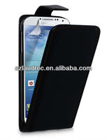 2013 Hot Sale Mobile Phone Flip Leather Case for Samsung Galaxy S4 i9500 Laudtec