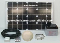 Solar Lighting Kit for Africa Home or Cottage - made in Germany