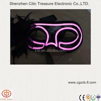 EL flashing mask/el eye mask