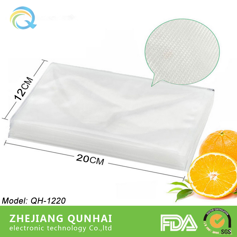 Textured Strong Durable Food Vacuum Storage Pouch