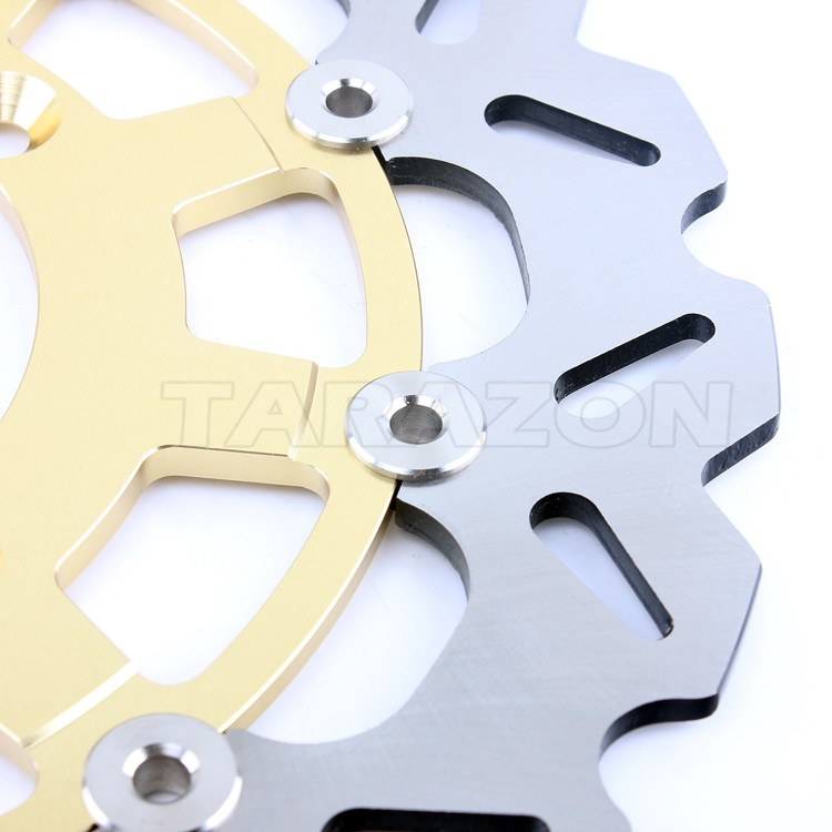 Floating Motorcycle Brake Disc for KAWASAKI KLX 450R