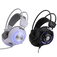 High Quality Super Bass Game Headphone with mix Over-Ear Gaming Headset with Led Light for PC Gamer