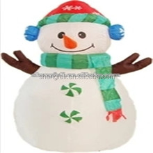 Small Inflatable snowman with customizable size