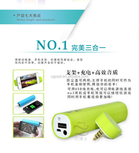 Factory Wholesale spcial mold Bluetooth Speaker Power Bank, hot portable mobile charger,top trending electronic products