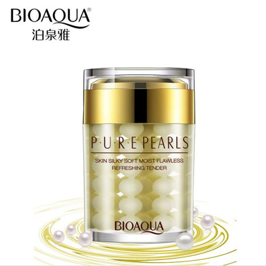 Pure Pearl Essence Skin Care Hyaluronic Acid Face <strong>Cream</strong> 60g Moisturizing Anti-Aging Wrinkle Whitening Face Care <strong>Cream</strong>