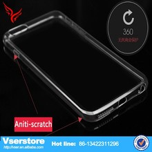 High quality Ultra Thin Clear Crystal Rubber TPU Silicone For iPhone 6 Soft Case