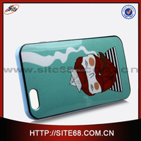 High quality IMD painting for iphone 6 case, sublimation tpu fancy back cell phone cover for iphone 6