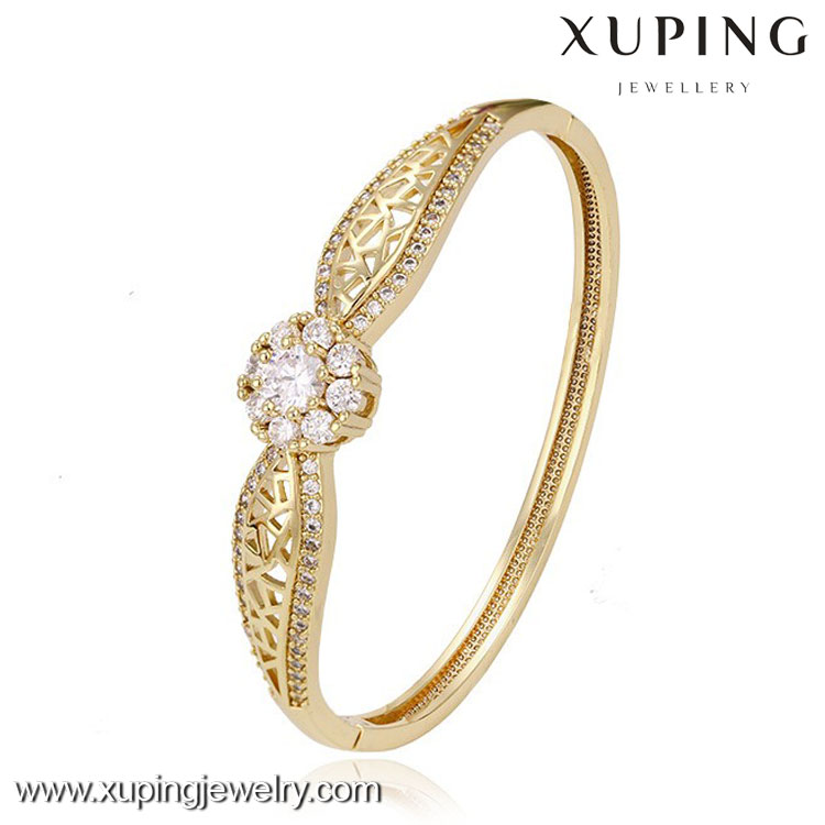 51244-xuping fashion turkish gold jewelry 14k high quality simple designed thin gold bangles