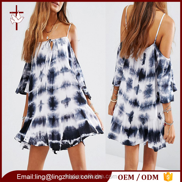Casual summer one piece dress 2016 bulk women clothing for sale