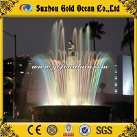 New star outdoor indoor advertisement/decoration digital water curtain with high quality