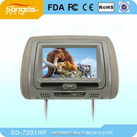 7'' Car DVD Player,7 inch car lcd dvd player for headrest,7 inch car headrest dvd player