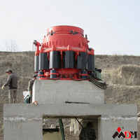 Shanghai DM china hydraulic cone crusher hp series CE ISO