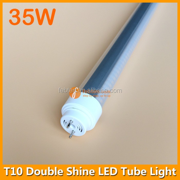 LED Fluorescent Tube Light 35W 150cm T10 LED Double Shine Lamp