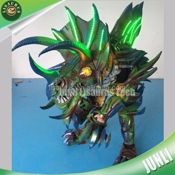 Lisaurus-CH1060 Cartoon characters mascot EVA armor suits dinosaur costume for cosplay