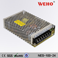 Quality control 100w smps ac/dc industrial 24v led power supply
