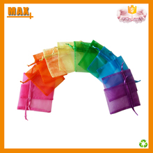 Wholesale Cheap Custom Drawstring Organza Bags