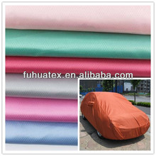 100% polyester 190t polyester taffeta fabric coated PVC