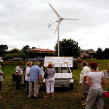 500W self-contained wind power generator