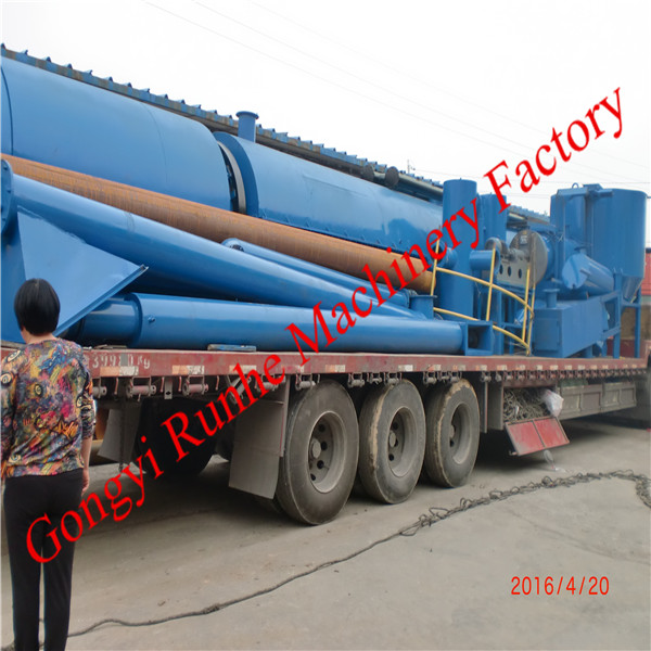 High quality machine for convert the coconut shell into charcoal equipment from Runhe