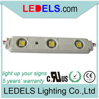 light box led modules with Epistar 5050 leds inside waterproof IP65 CE/RoHS approved