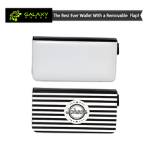 Fashionable Sublimation Leather Hand Wallet with chamgable flap for Valeantine's day