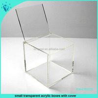 Small Transparent Acrylic Boxes With Cover
