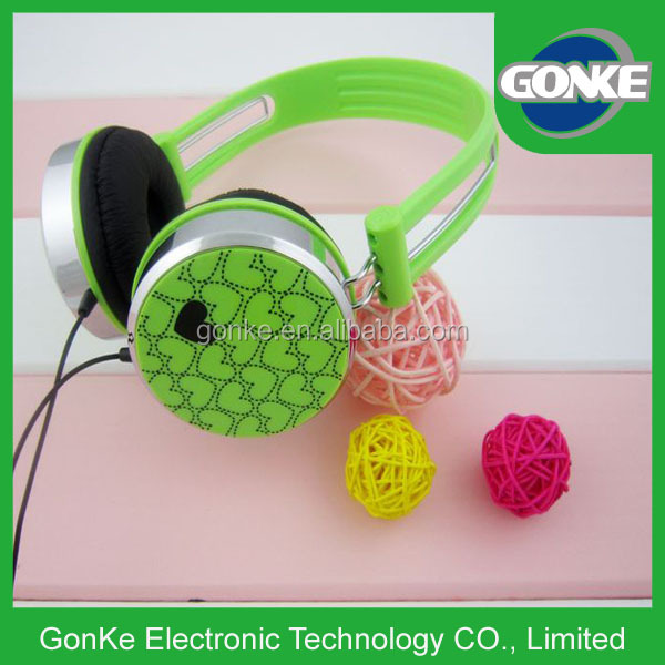 Colorful Promotional Oem Fashion Headphones custom cheap braided cable headphone