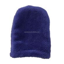 Perfect Beauty Purple Plush Magic MakeUp Remover Mitt with just Water