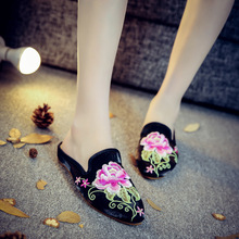 summer elegant lace bow decoration nice flowers footwear ladies platform slippers sandals for girl