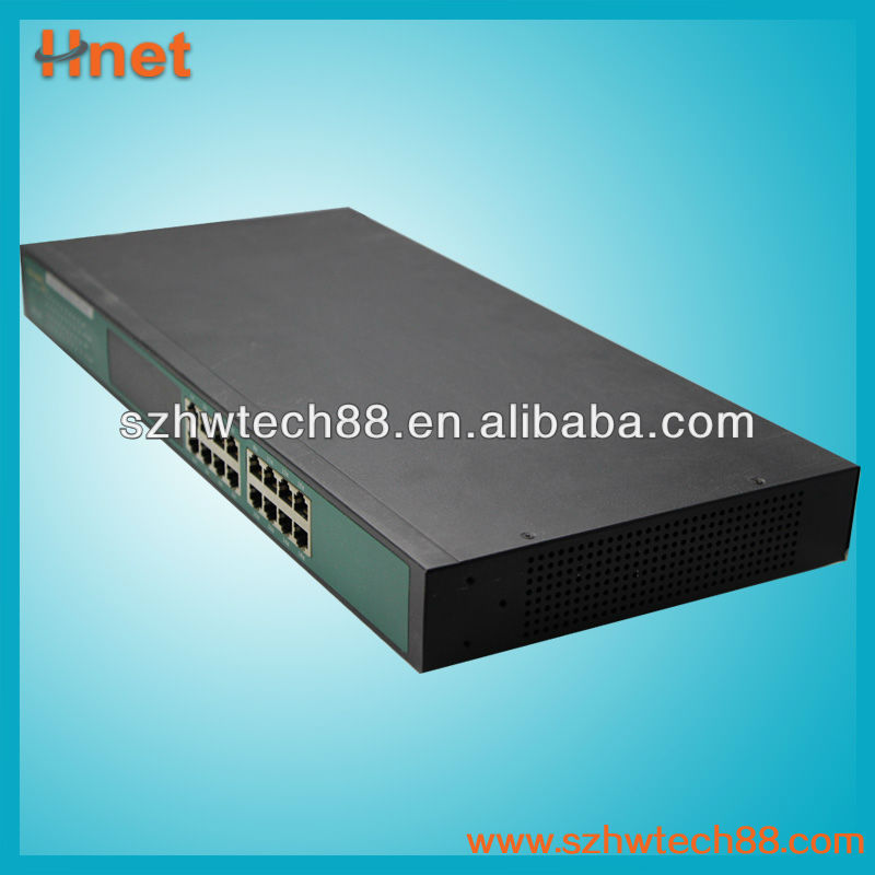 16 port 10/100Mbps fast ethernet switch hub network switch