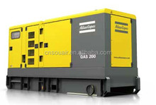 AtlasCopco QAS200 On-site diesel generators, 200kVA160kW prime power,WCU diesel engine