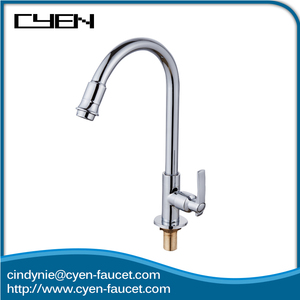 Modern Kitchen Pull Down 360 degree Swivel Kitchen Faucet Single Handle Deck Mounted Kitchen Sink Taps