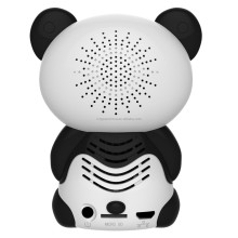 Hot!Small Panda Alarm Clock 1080P wifi ip spy camera with remote control