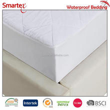 High End Tailored Micro Plush Sandwich Mattress Protector Cover Waterproof Skirted