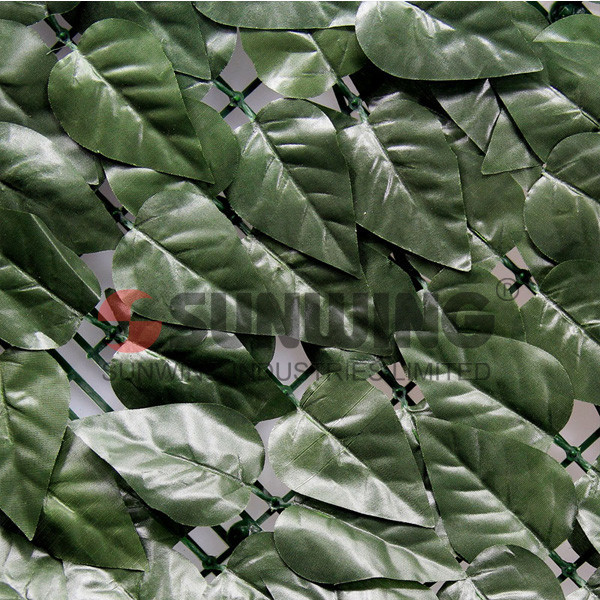 cheap synthetic artificial hedge balcony glass fence