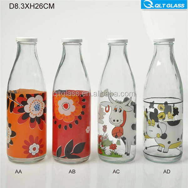 Beverage Industrial Use and Glass Material Glass Bottles for alcohol drink