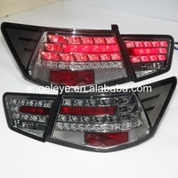 For KIA Cerato Forte Sedan LED Tail Lamp 2009- 2013 year Smoke Black Color WH